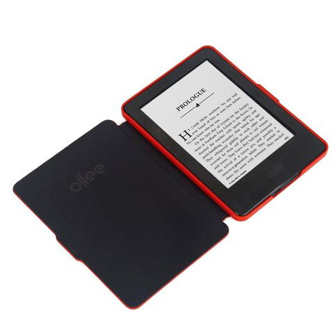 Ollee Kindle Paperwhite 3 Case Red