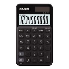 Casio Sl310Ucbk Handheld Calculator Black