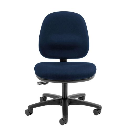 Dawell Aspen Midback Chair Navy