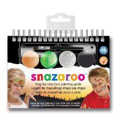 Snazaroo Face Paint 2 Step Kit Halloween Multi-Coloured