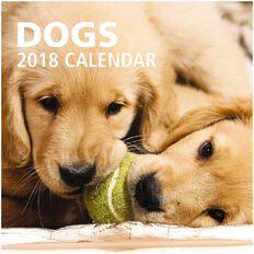 Calendar 2018 Dogs 290mm x 290mm