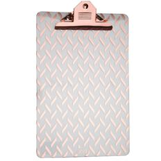 Uniti Foolscap Clipboard Rose Gold