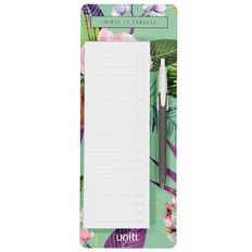 Uniti Soft Tropic To Do List With Pen