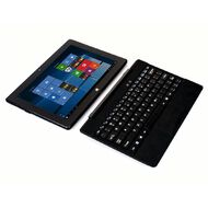 Windows 10 2-in-1 Tablet with Hard Keyboard Black
