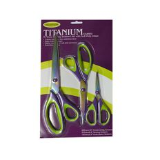 Sullivans Craft Scissors 3Pk Multi-Coloured