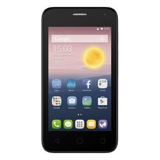 2degrees Alcatel Pixi First Locked Grey