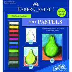 Faber-Castell Getting Started Set Soft Pastels Multi-Coloured