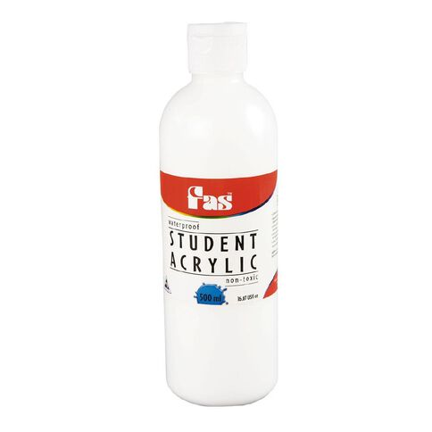 FAS Fas Paint Student Acrylic 500ml