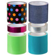 Alex Duct Tape Glam Multi-Coloured