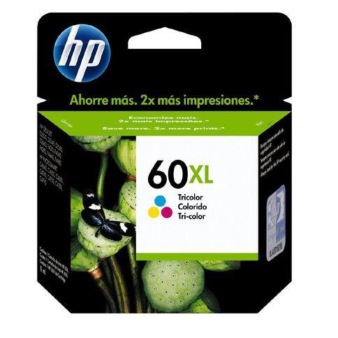 HP Ink Cartridge 60XL Multi-Coloured