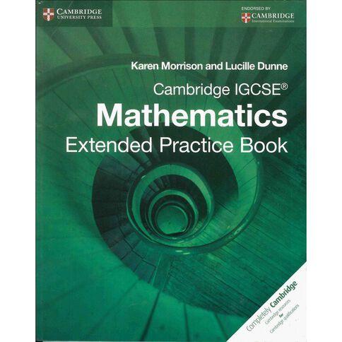 Igcse Year 11 Ext Mathematics Practice Book