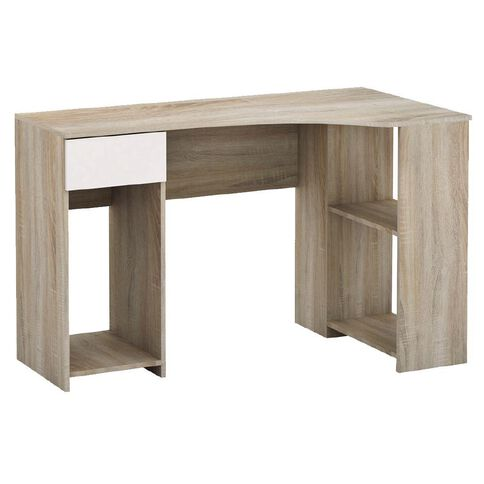 Workspace Soho L-Desk Oak