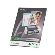 Leitz iLam Udt Lamination Pouches A3 80mic 100 Pieces Clear