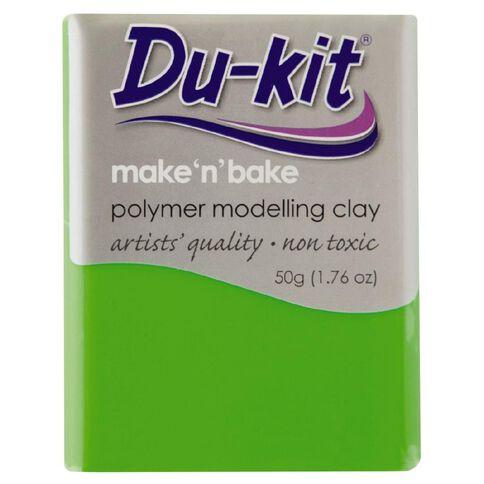 Du Kit Clay 50g Fluoro Green