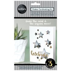 Rosie's Studio Shaker Card Kit Stars