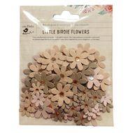 Little Birdie Flowers Jewelled Florettes 80 Piece Assorted