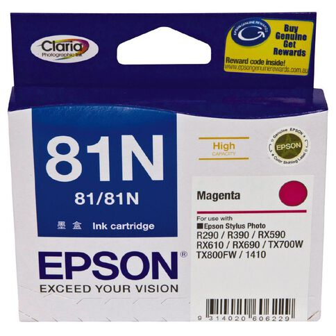 Epson Ink Cartridge 81N Magenta