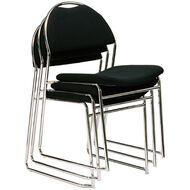 Dawell Lift Chair Chrome Base Black