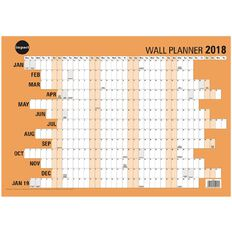 Impact Wall Planner 2018 A2