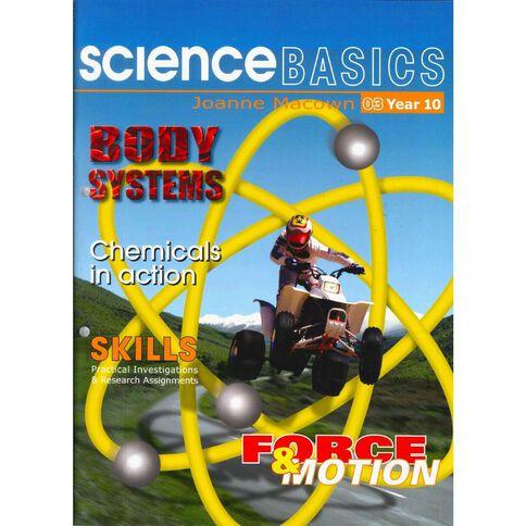 Year 10 Science Basics Book 3