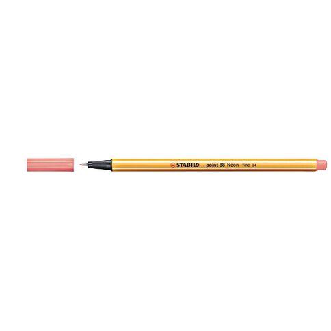 Stabilo Point 88 Fineliner 0.4mm Neon Red