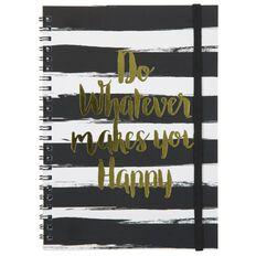Banter Happy Spiral Notebook Foil A5