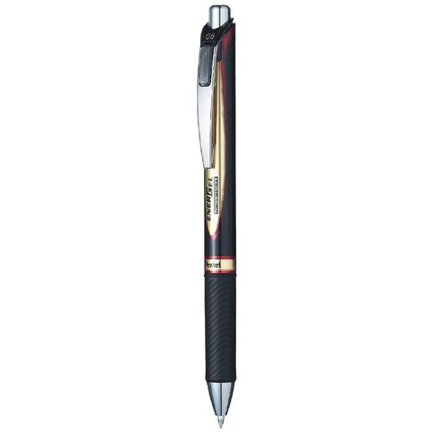 Energel Retractable Pen 0.5mm Ink Red