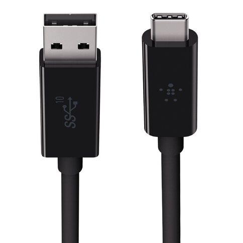 Belkin USB 3.1 USB-C To USB A 3.1 Black
