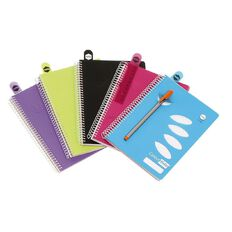 ColourHide Notebook 4 Subject 200 Page Assorted A5