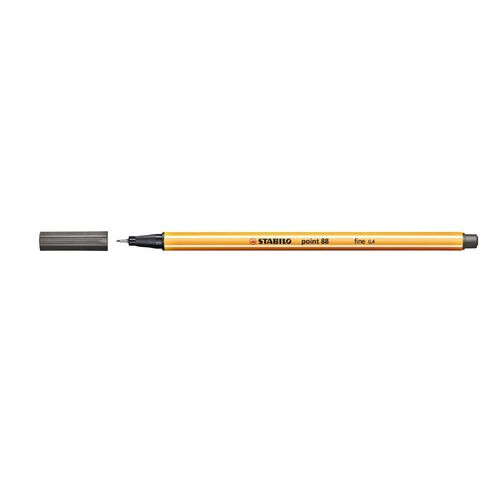 Stabilo Point 88 Fineliner 0.4mm Dark