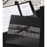 Rosie's Studio Value Cardstock Pearlised 250g 12 Sheet Black A4