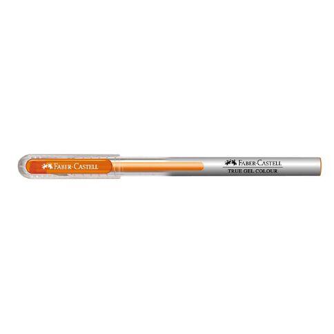 Faber-Castell Gel Pen True Gel Colour 0.7mm Orange