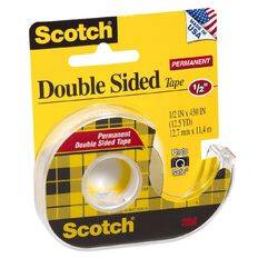 Scotch Double Sided Tape 12.7mm x 11.4m Clear