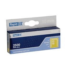 Rapid Staples 13/10 2500 Pack Silver