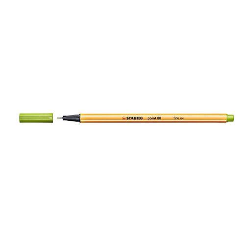 Stabilo Point 88 Fineliner 0.4mm Apple Green
