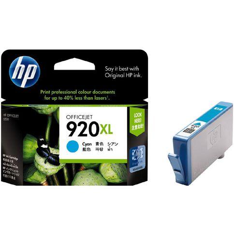 HP Ink Cartridge 920XL Cyan