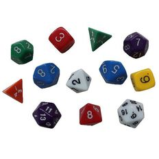 TFC Multi Sided Polyhedral Dice