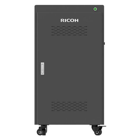 Ricoh 30 Device Charging Trolley For Laptops/Tablets/Chromebooks Black
