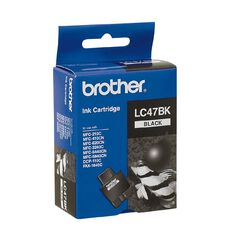 Brother LC47BK Black Ink Cartridge Black