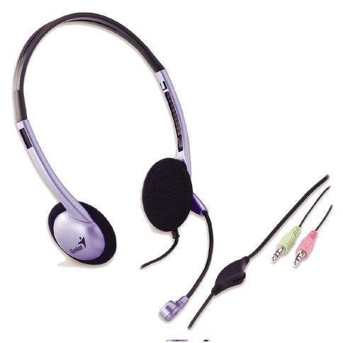 Genius Headset Over Head Hc602B Black