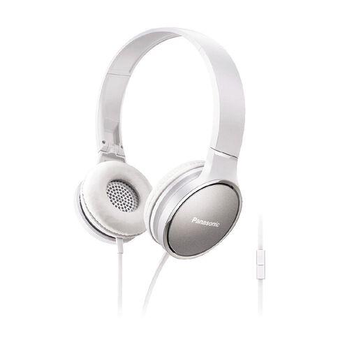 Panasonic Stereo Headphones Rp-Hf300M White
