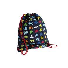 Fs Swim Bag Space Invaders Multi-Coloured