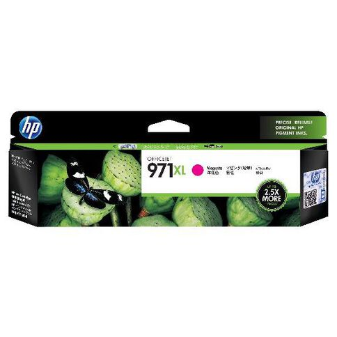 HP Ink Cartridge 971XL Magenta