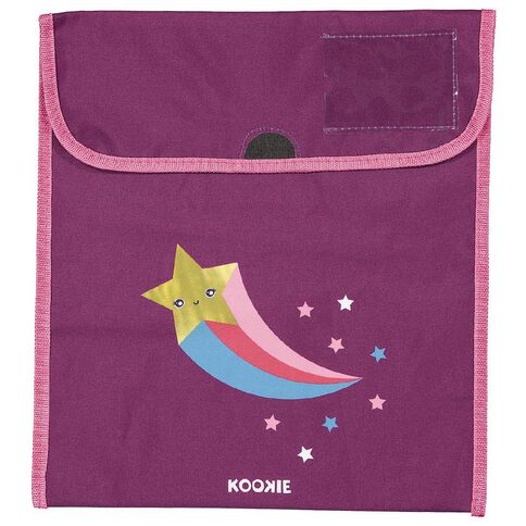 Kookie Star Homework Bag Purple