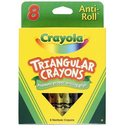 Crayola Triangular Crayons 8Pk
