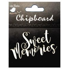 Little Birdie Chipboard Sweet Memories