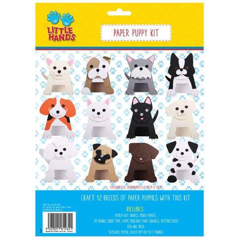 Little Hands Paper Puppy Kit 12 Pack