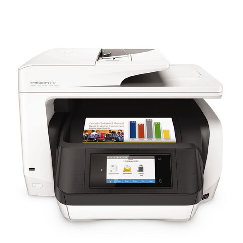 HP Officejet Pro 8720 All-in-One Printer White