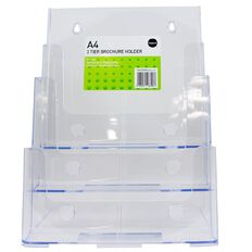 Impact Brochure Holder Free Standing 3 Tier 3 Compartments A3