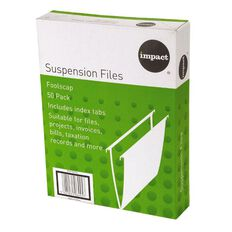 Impact Suspension Files 50 Pack Green